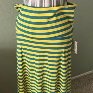 LuLaRoe Skirts - LuLaRoe Maxi Striped skirt
